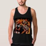 Fire Power Tiger T-Shirt