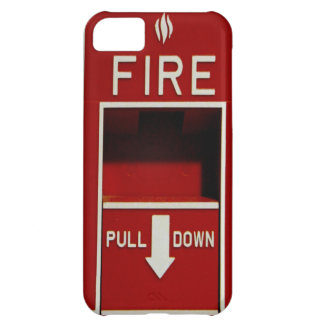 Fire Pull Station iPhone 5 Case