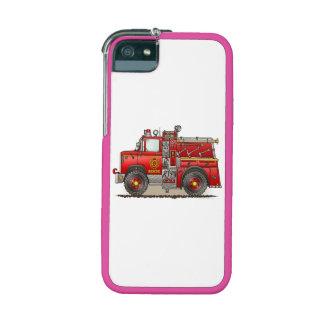 Fire Pumper Rescue Truck iPhone 5/5S Cases