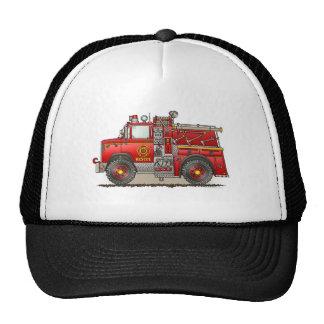 Fire Pumper Rescue Truck Hat