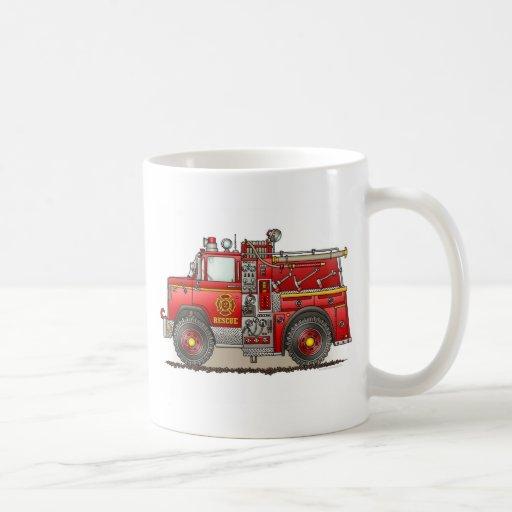 Fire Pumper Rescue Truck Mug
