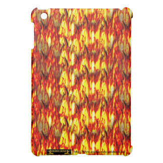 fire pyromaniac hot sizzle burn scold heat flames case for the iPad mini