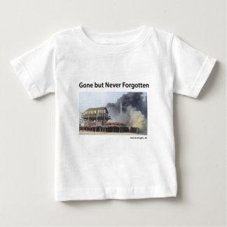 Fire rages along NJ boardwalk damaged by Sandy Baby T-Shirt
