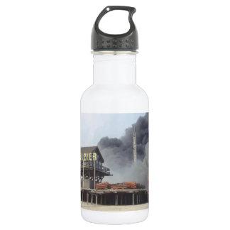 Fire rages along NJ boardwalk damaged by Sandy Water Bottle