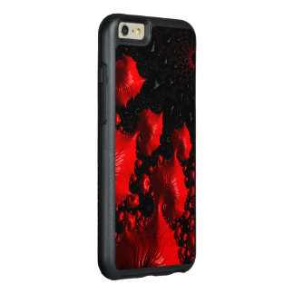 Fire Red Fractal OtterBox iPhone 6/6s Plus Case