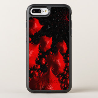 Fire Red Fractal OtterBox Symmetry iPhone 7 Plus Case