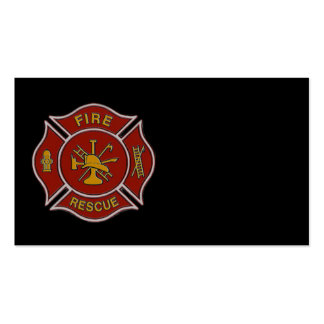 Fire Rescue Business Card Template