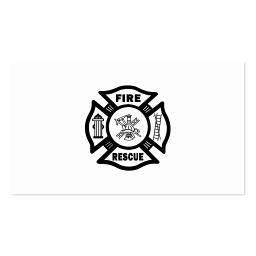 Fire Rescue Business Cards