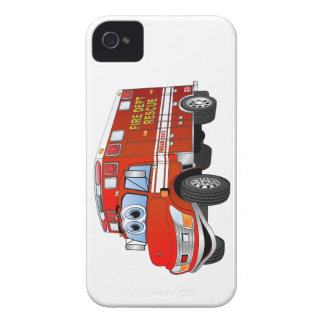 Fire Rescue Cartoon iPhone 4 Cover
