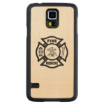 Fire Rescue Carved® Maple Galaxy S5 Case