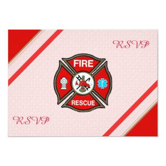 Fire-Rescue EMT Retirement RSVP Cards