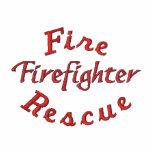Fire, Rescue, Firefighter-SweatShirt-Zip