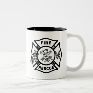 Fire Rescue Firefighters Mugs