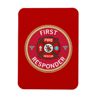 Fire Rescue First Responder Magnet