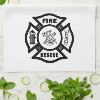 Fire Rescue Hand Towels