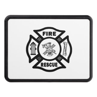 Fire Rescue Hitch Cover