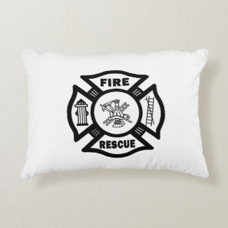 Fire Rescue Accent Pillow