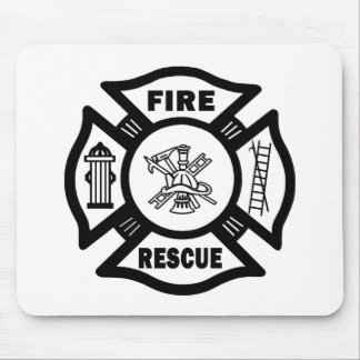 Fire Rescue Mouse Pad