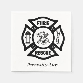 Fire Rescue Napkin
