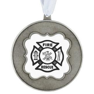 Fire Rescue Ornament