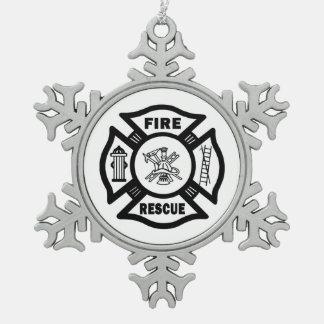 Fire Rescue Ornaments