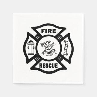 Fire Rescue Disposable Napkins