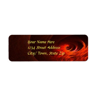 Fire Return Address Labels