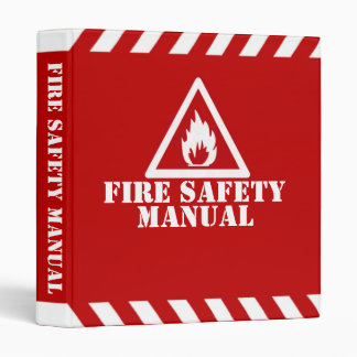 Fire Safety Manual Binder