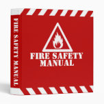 Fire Safety Manual Binders