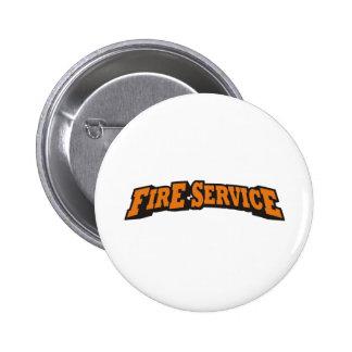 Fire Service (Orange) Button