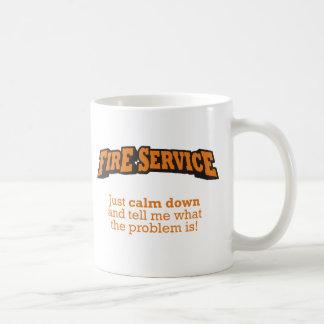 Fire Service / Problem Classic White Coffee Mug