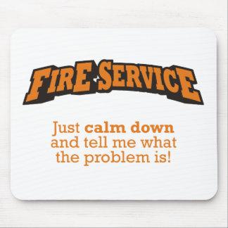 Fire Service / Problem Mouse Pad