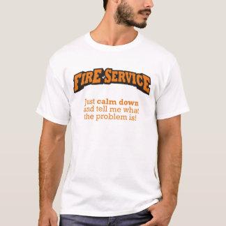 Fire Service / Problem T-Shirt