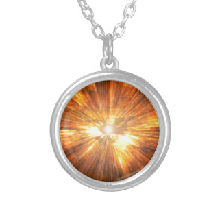 Fire Silver Plated Necklace