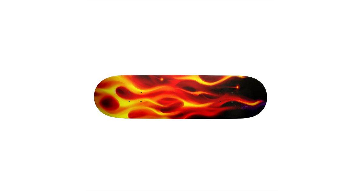 Fire Skate Deck Zazzle
