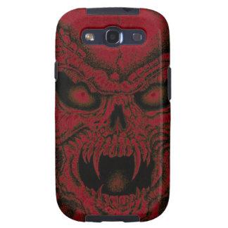 Fire Skull Samsung Galaxy SIII Cases