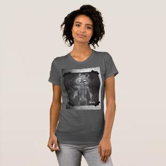 Fire Skull Halloween T-Shirt