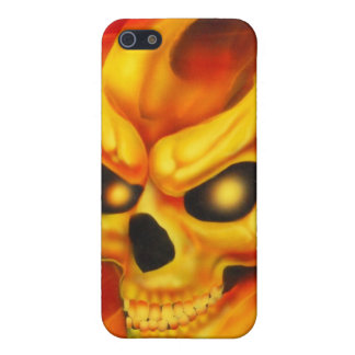 Fire Skull Speck Case iPhone 5 Cover