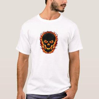 Fire Skull T Shirt