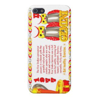 Fire Snake zodiac born 1977 Gemini Case For iPhone SE/5/5s