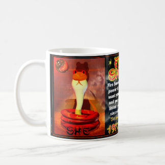 Fire Snakes born 1977, 2037 Classic White Coffee Mug