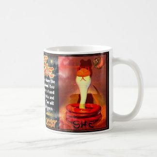 Fire Snakes born 1977, 2037 Mug