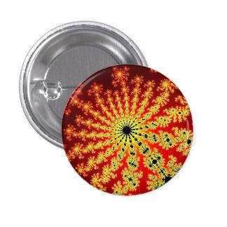 Fire Spark Burst Small Round Button