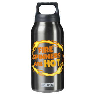 Fire Spinners Are Hot Insulated Water Bottle
