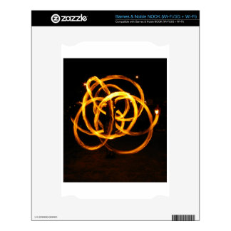 Fire Spinning - Celtic Knot Skins For The NOOK