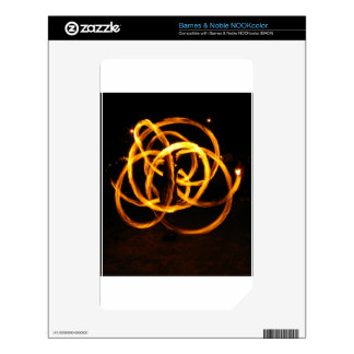 Fire Spinning - Celtic Knot Skins For The NOOK Color