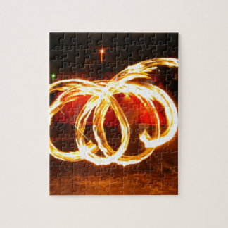 Fire Spinning - Dragon Staff Puzzle