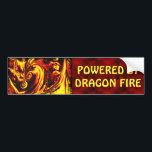 """Fire Spirit Bumper Sticker<br><div class=""""desc"""">Original art by Houston artist Jolie E. Bonnette.</div>"""