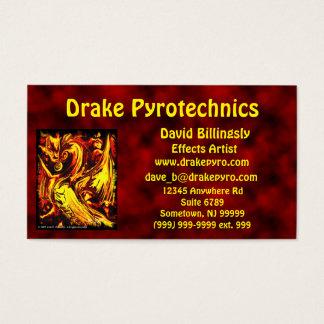 Fire Spirit Business Card