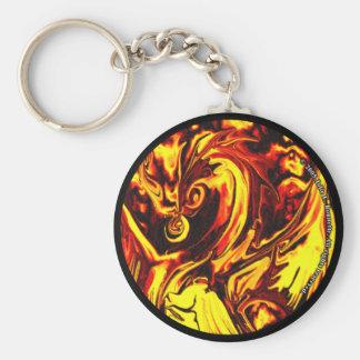 Fire Spirit Keychain
